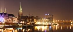 Bremen bei Nacht I