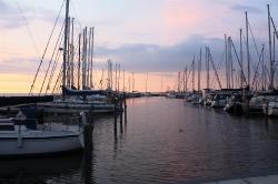 Chillout im Hafen